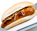 Find Wagners sausage stand at